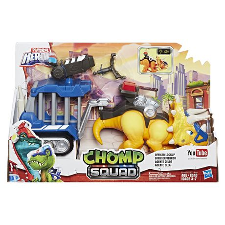 Chomp Squad Agente Celda Playskool Heroes